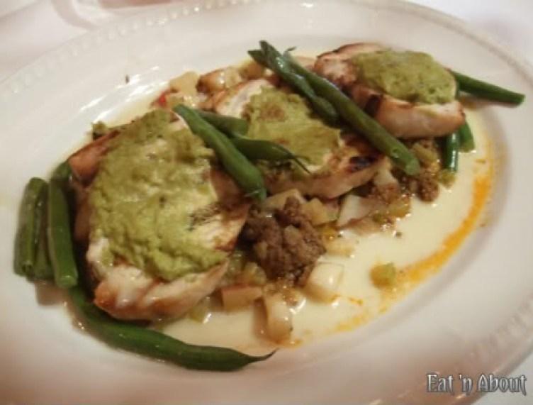 Currant American Brasserie: Grilled Harpooned Swordfish