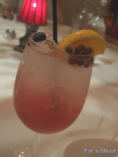 Currant American Brasserie virgin cocktail