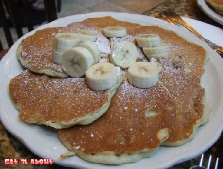 Richard Walker's Pancake House: Banana Flap-jacks