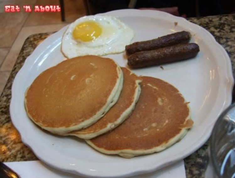 Richard Walker's Pancake House breakfast meal