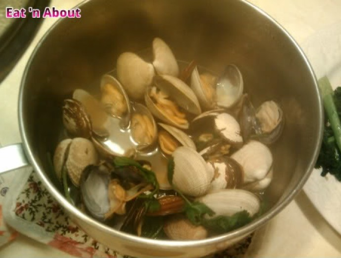 Steamed Clams in Chinese Wine