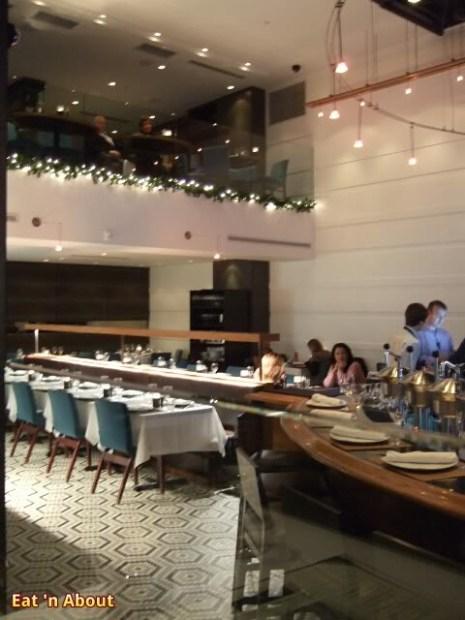 Coast Restaurant Vancouver: interior