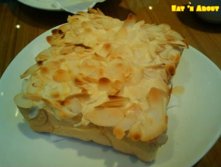 Pearl Castle Richmond: Fluffy cream thick toast