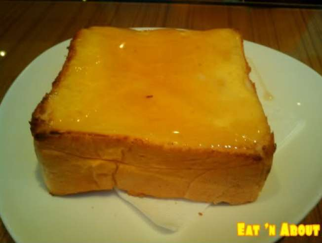 Pearl Castle: Honey Yolk Thick Toast