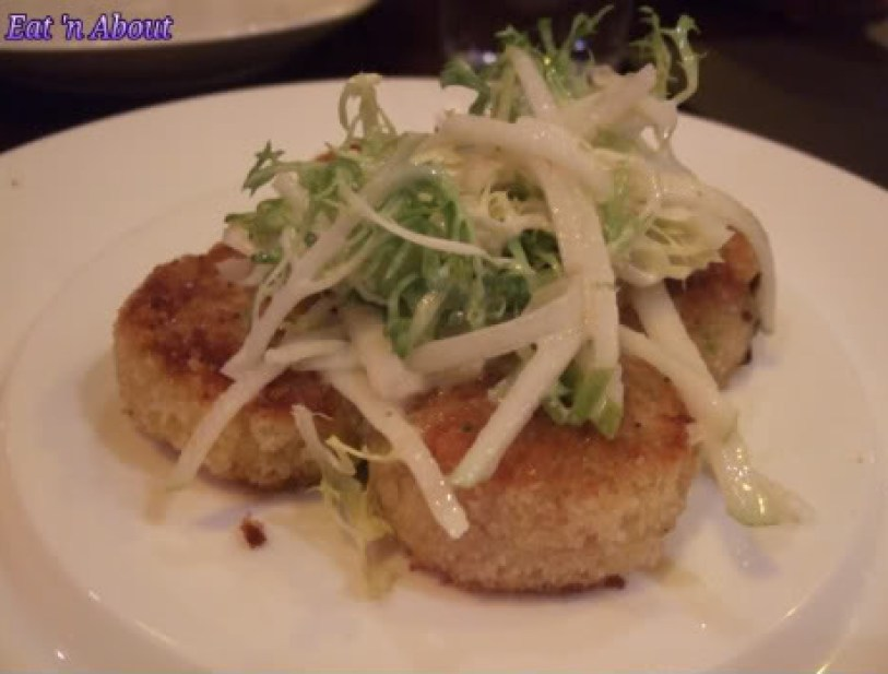 Regional Tasting Lounge: Dungeness Crab & Shrimp Cakes