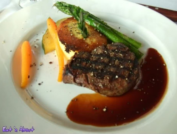 Seasons in the Park: Petit Filet Mignon
