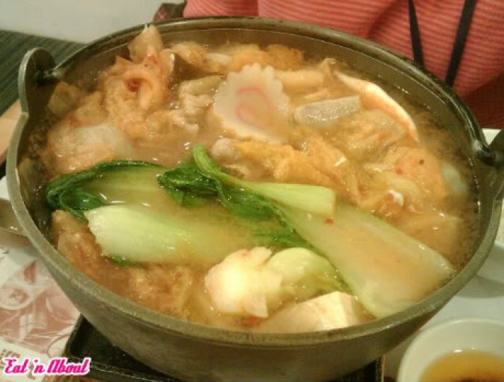 Sunshine Cafe: Seafood Kimchi hotpot