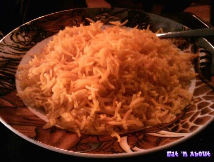 Simba's Grill on Denman: rice