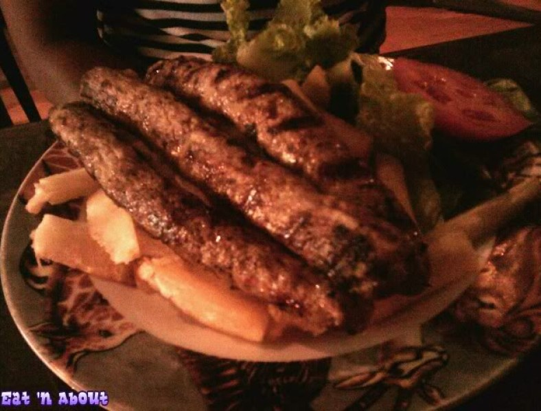 Simba's Grill on Denman: Kebab of minced chicken