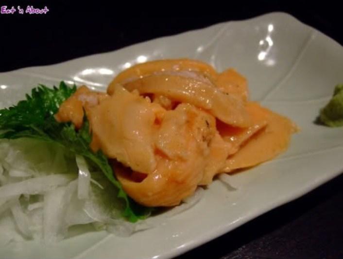 Tsuki no Shizuku, Shin-Osaka: Generous helping Fatty Flesh of Tuna, Salmon, and Harasu