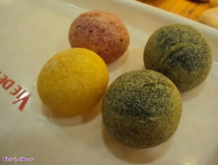 Porta, Kyoto Station: mochi balls