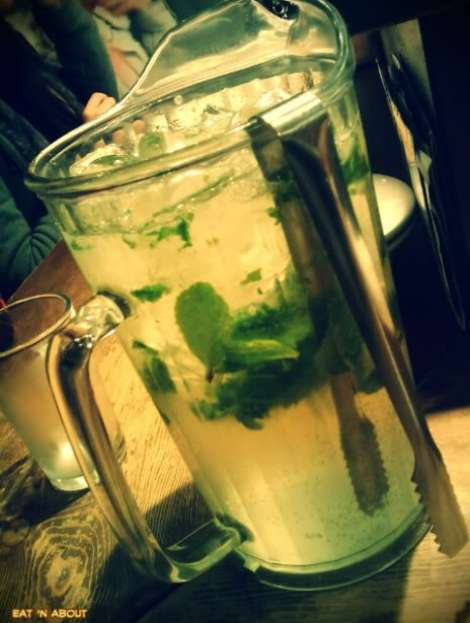 Guu with Garlic: Aloe Vera Mojito