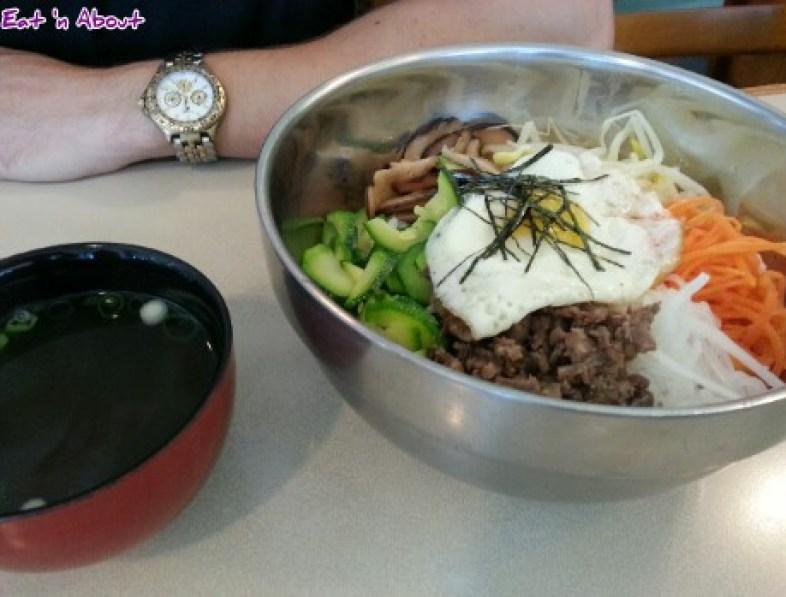 Potter's Garden Korean BBQ: Bibimbap