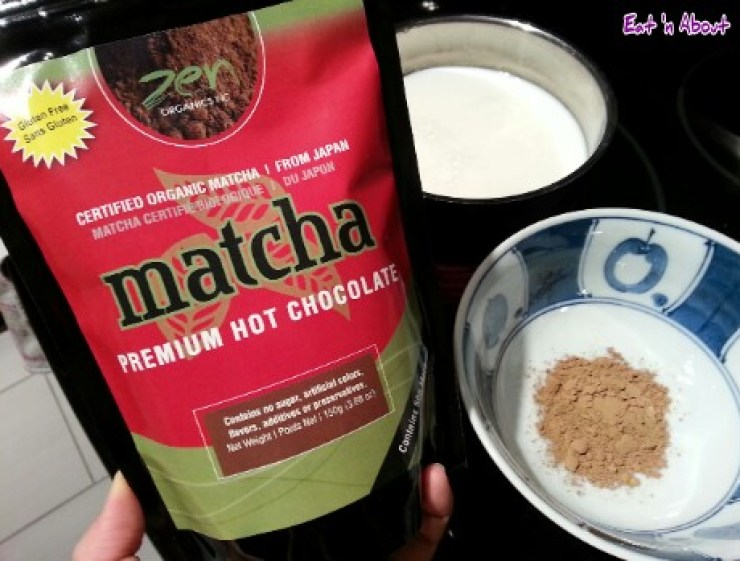 Zen Organics Matcha Premium Hot Chocolate