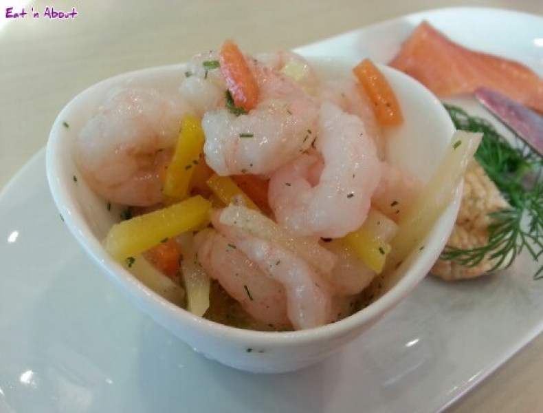 Ikea Bistro: Shrimp Salad