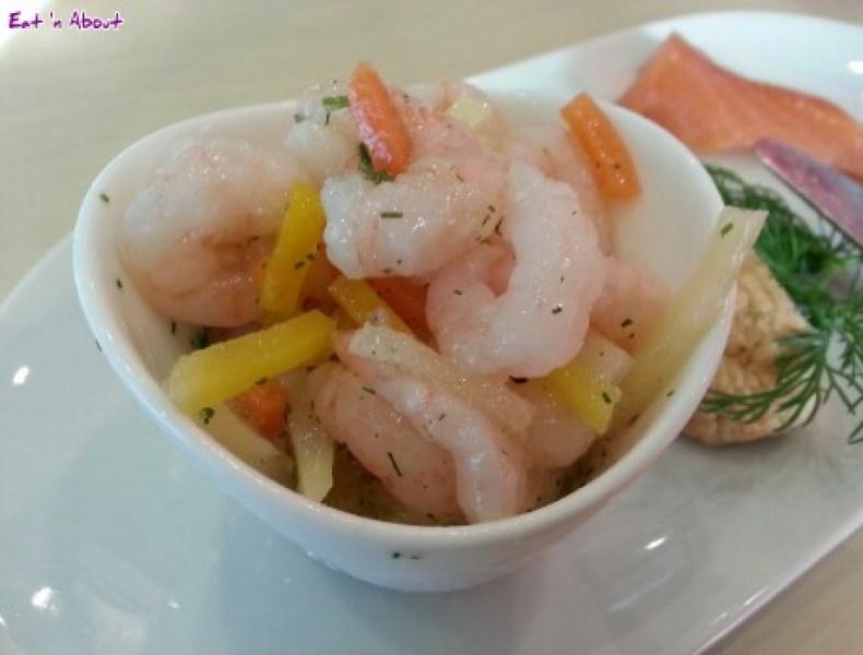 Ikea Bistro: Shrimp Salad