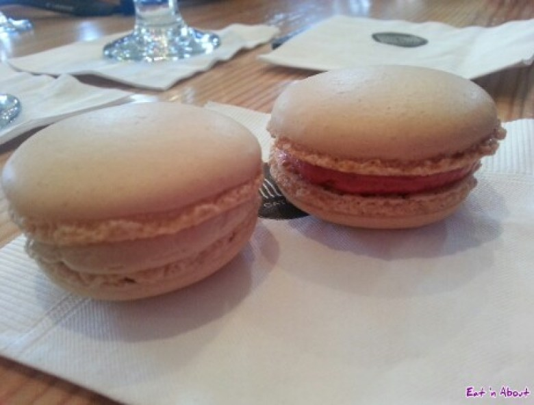 Bocuse d'Or Test Kitchen Tasting with Chef Alex Chen: Cherry, Raspberry, and Vanilla + Maple macarons