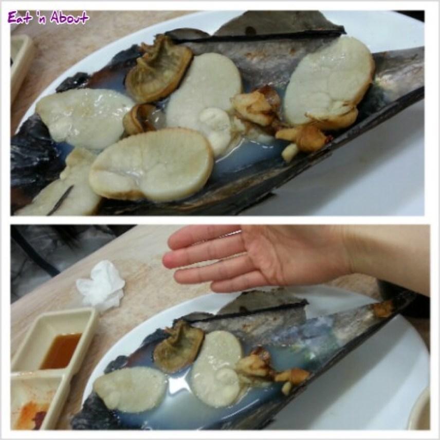 Noryangjin Fish Market in Seoul, South Korea: Giant mussel
