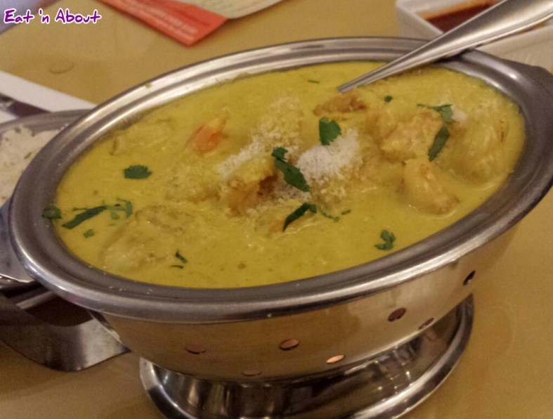 Lazymeal Mashup at Handi Cuisine of India Burnaby: Prawns Goa Curry