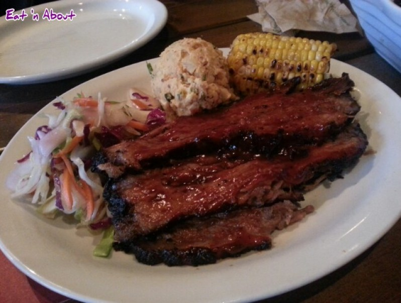 The Copper Pig BBQ and Social House: Beef Brisket Dinner