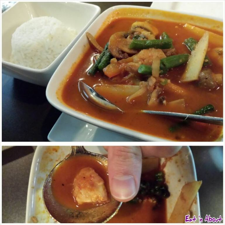 U & I Thai: Fish Jungle Curry (Gang Pah)