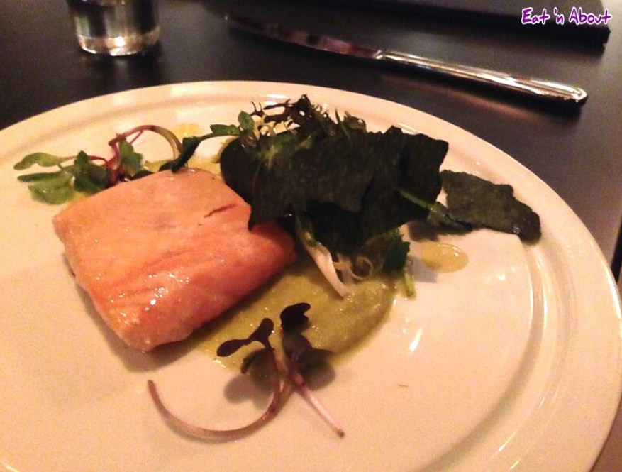 Mosaic Grille: A la Minute Smoked Skuna Bay Salmon
