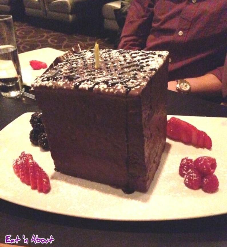 Mosaic Grille: Mosaic Whole Birthday Chocolate Cake