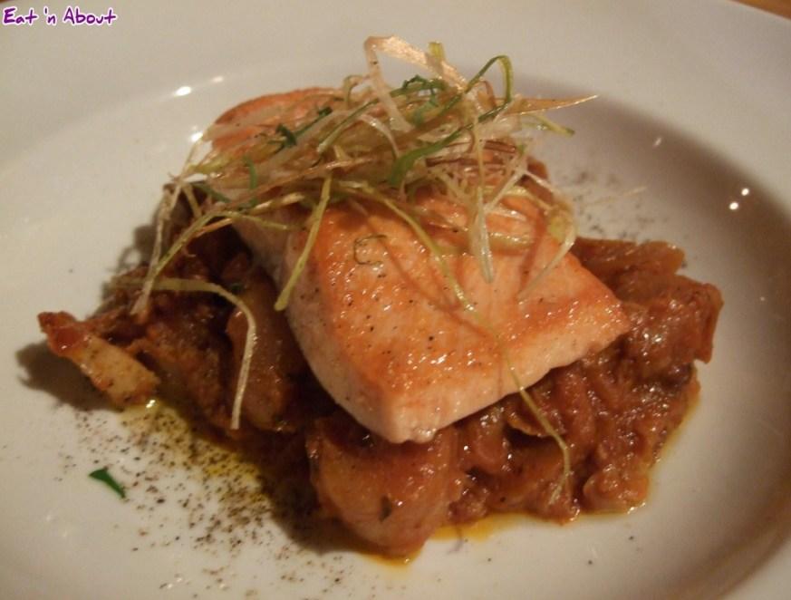 Siena Restaurant: Pan-roasted Steelhead