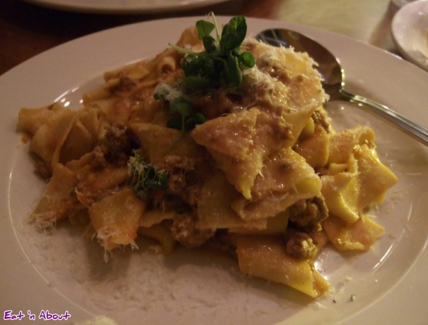 Ask for Luigi: Pappardelle with Classic Bolognese