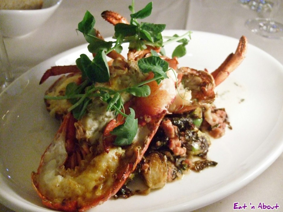 ORU: Broiled Cape Breton Lobster