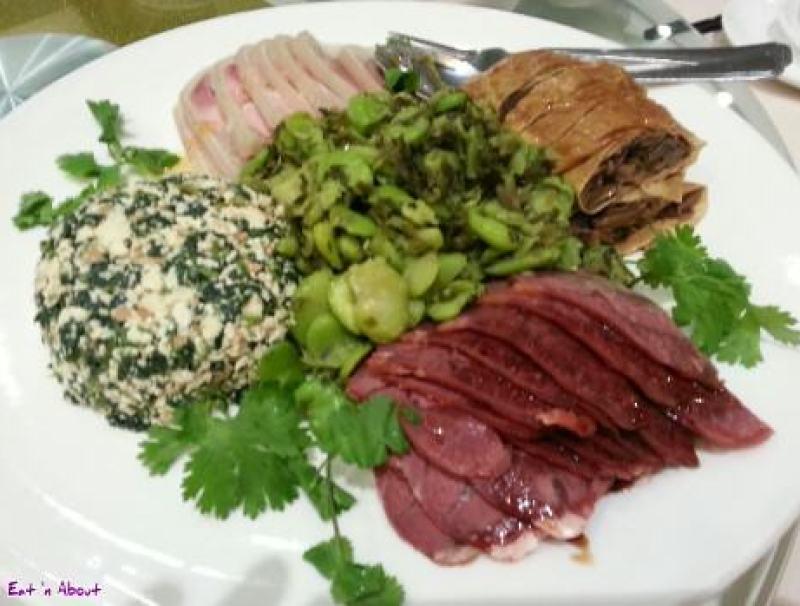Suhang Restaurant: Cold Appetizer Platter