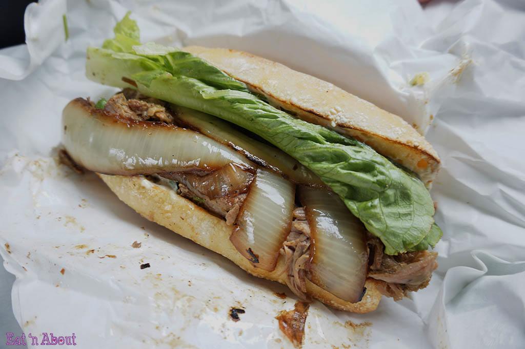 Paseo Caribbean Restaurant: Caribbean Roast Sandwich