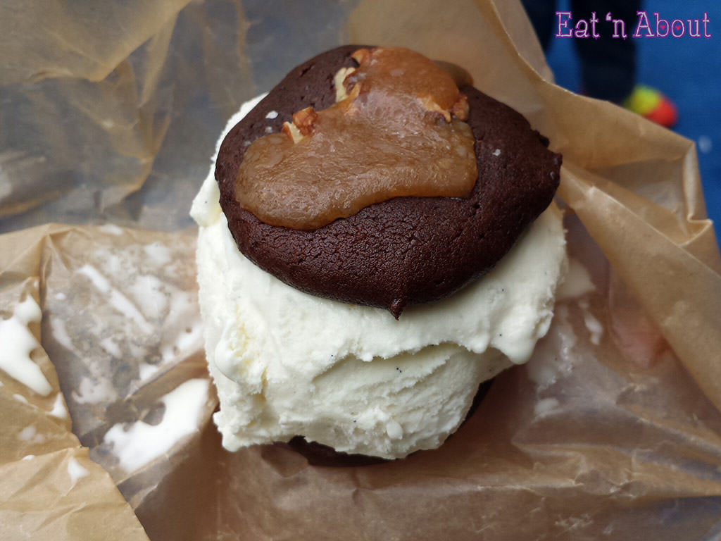 EAT! Vancouver 2014 - Brown Paper Packages artisanal ice cream sandwich