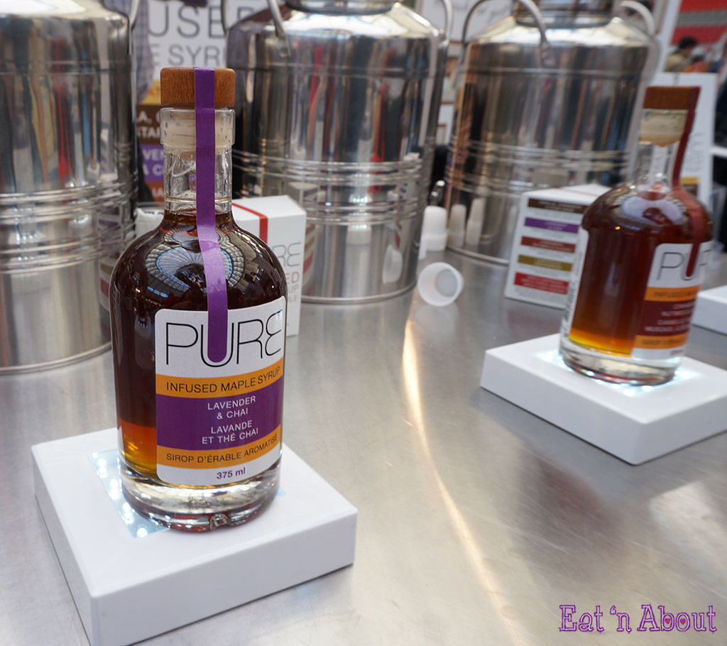 EAT! Vancouver 2014 - PURE Infused Maple Syrup