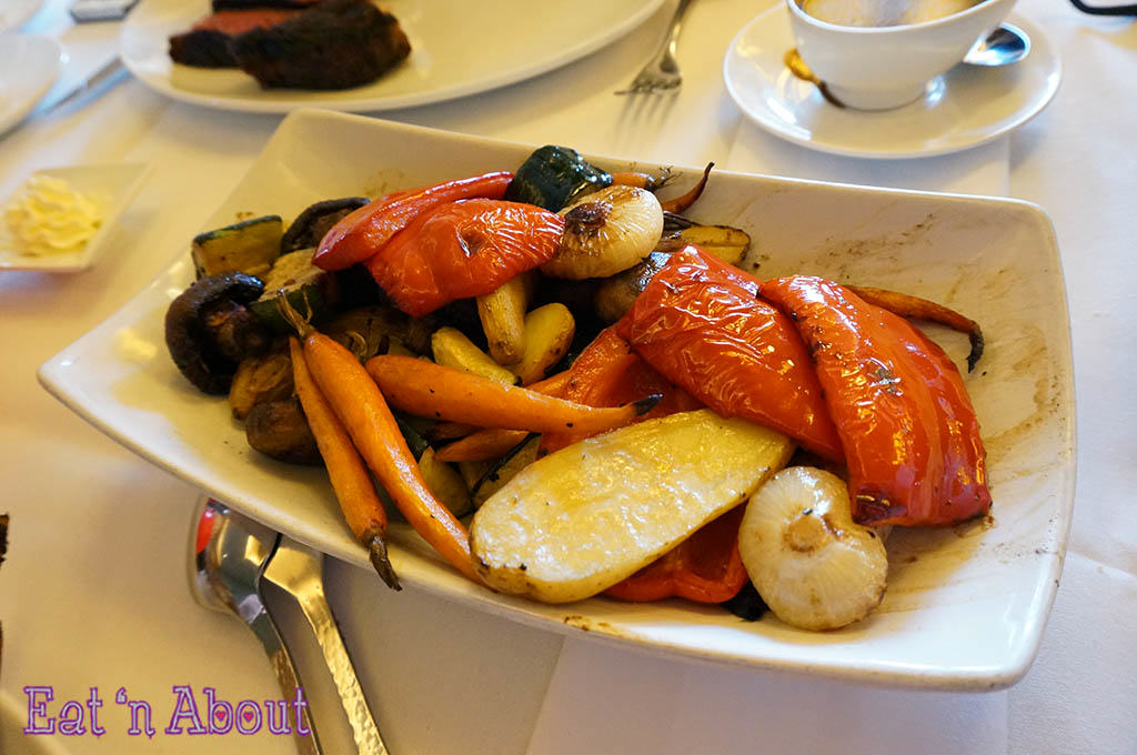 John Howie Steak - Oven Roasted Vegetables