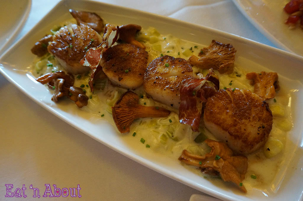 John Howie Steak - Seared Sea Scallops