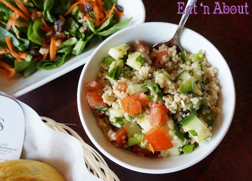 Saltenas Cafe and Pastries - Quinoa Salad