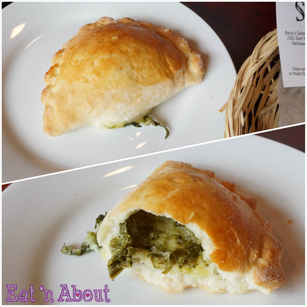 Saltenas Cafe and Pastries - Cheese & Spinach Empanada