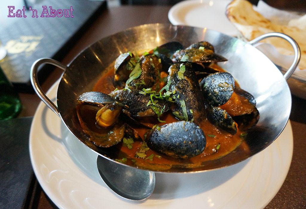 Palki Restaurant - Curried Mussels