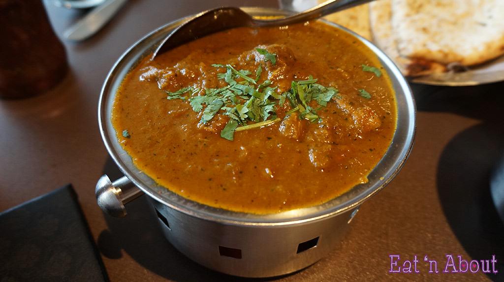Palki Restaurant - Lamb Pasanda / Lamb Cilantro