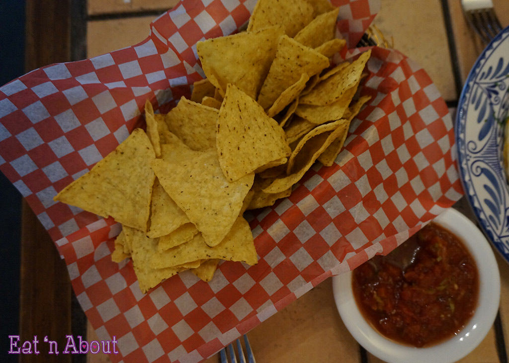 Poncho's Mexican Restaurant - chips and salsa