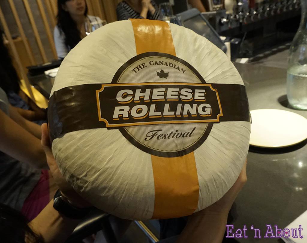 11 pound cheese wheel