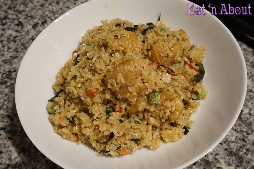 Trader Joe's Spicy Thai Shrimp Fried Rice