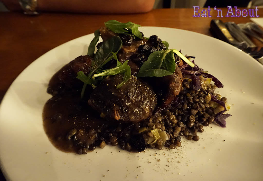 Shaughnessy Restaurant - Slow Cooked Rangeland Elk Osso Buco