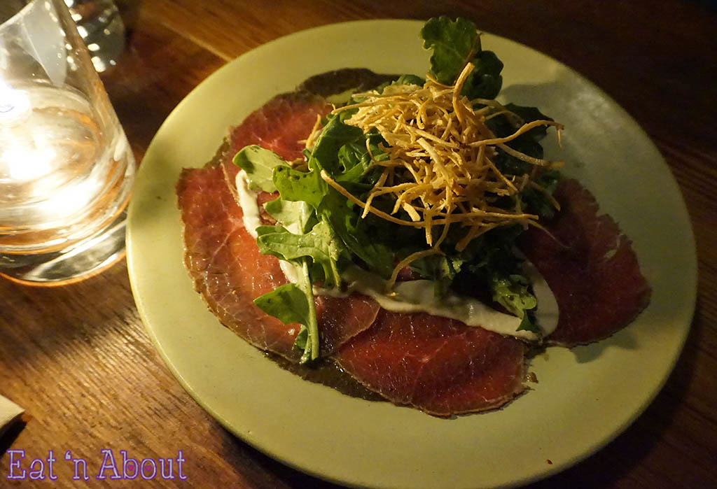 Wildebeest - Bison Carpaccio