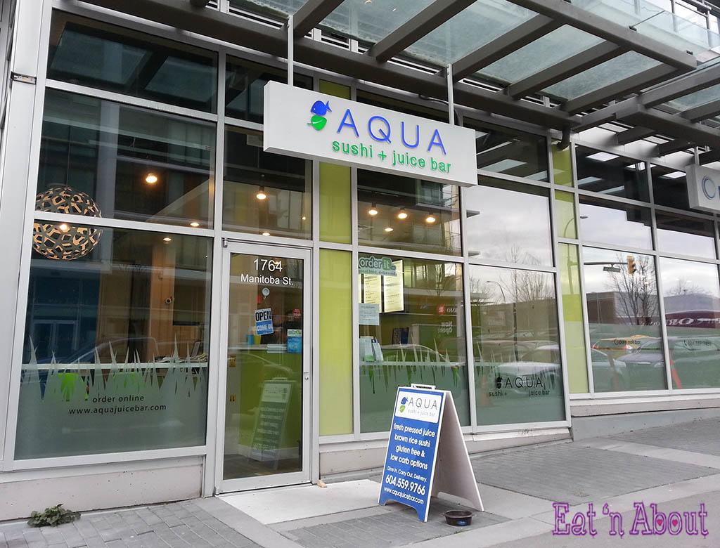Aqua Sushi + Juice Bar - exterior