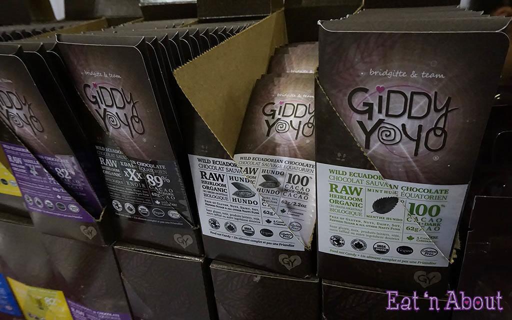 Giddy Yoyo Raw Chocolates