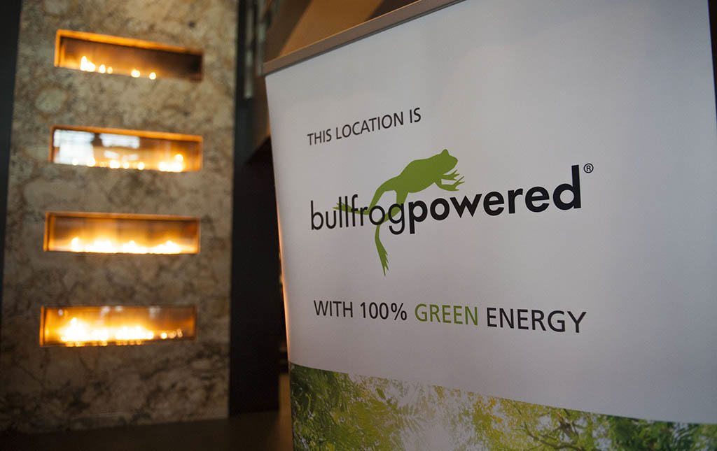 The Keg is now Bullfrog powered!