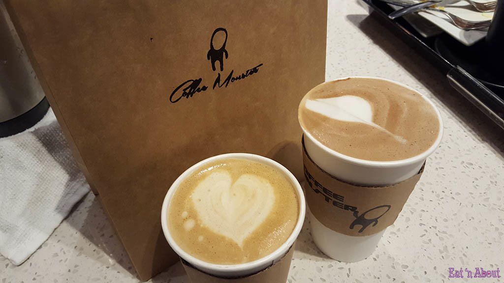 Coffee Monster Spanish Latte and Mocha