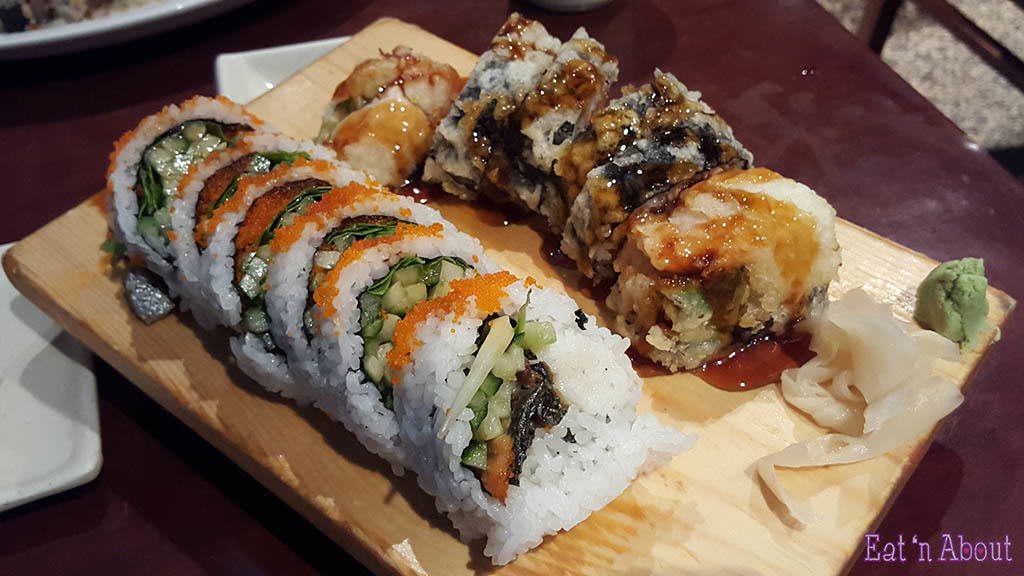 Sushi California Coquitlam - BC Roll and Crunch House Roll